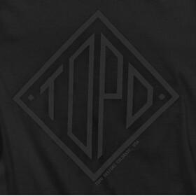 Topo Designs Diamond T-shirt Homme, black